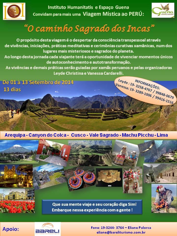 Viagem Mística, Cultural e Histórica ao Peru - O Caminho Sagrado dos Incas