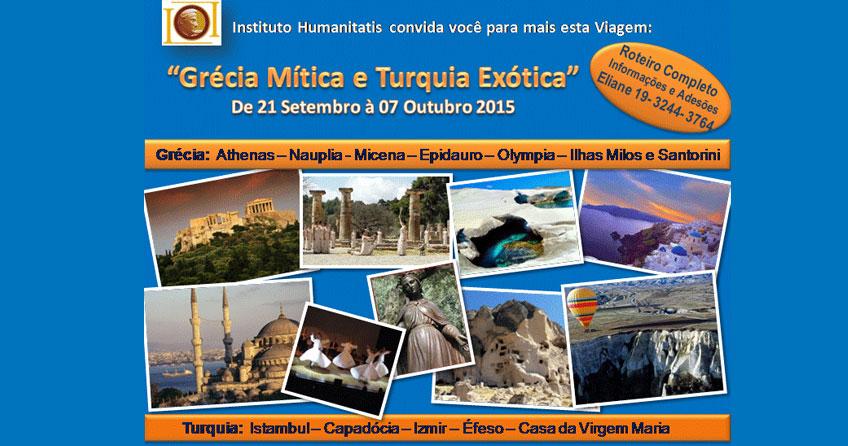 Viagem Grécia Mítica & Turquia Exótica
