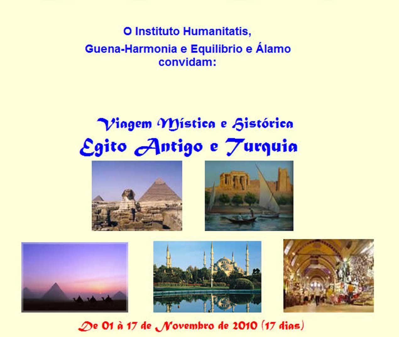 Egito Antigo e Turquia